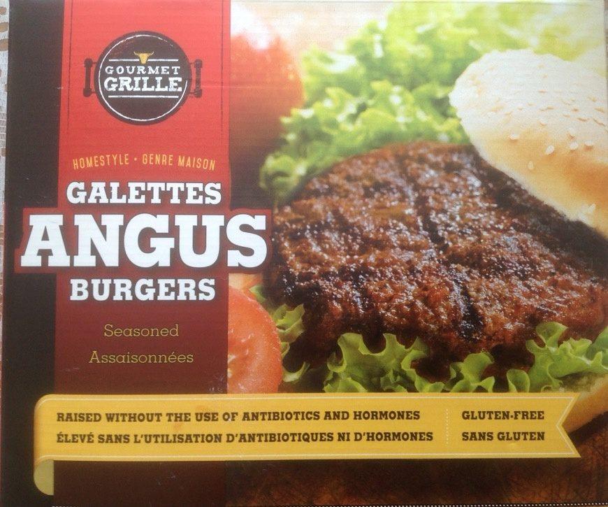Galettes de bœuf Angus - Produit - fr