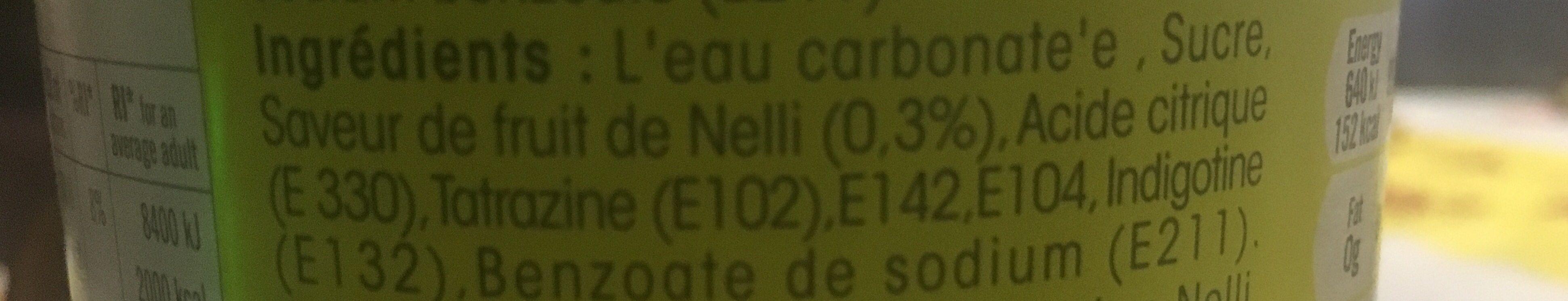 Niru Nelli Amla Flavour Drink Ltr - Ingrédients - fr