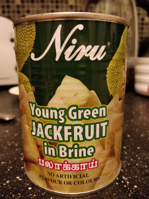 Young Green Jackfruit in Brine - Product