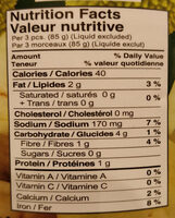 Young Green Jackfruit in Brine - Nutrition facts