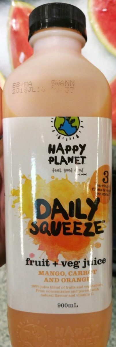Daily Squeeze Mango, Carrot and Orange - Produit - fr