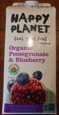 Organic Pomegranate & Blueberry 100% Juice & Purée Blend - Product - en