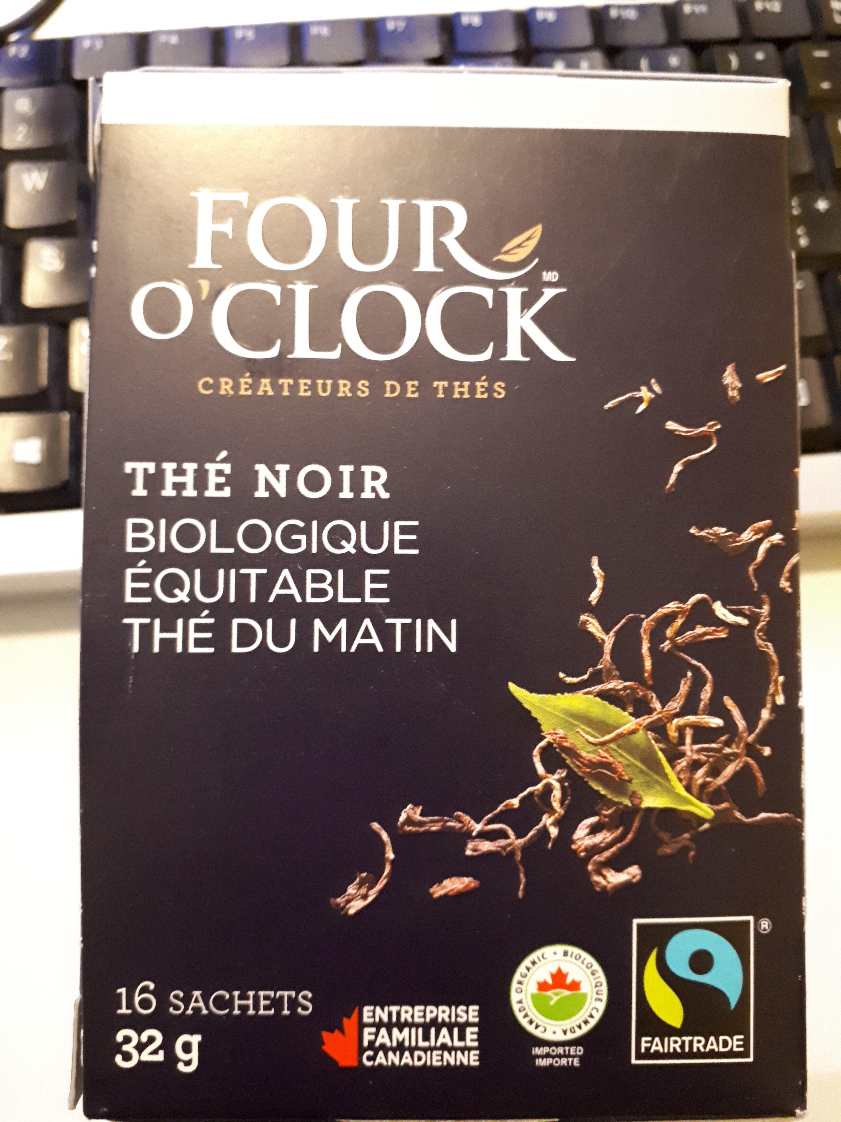 thé noir biologique équitable - Product - fr