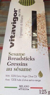 Gressins au sesame - Produit - fr