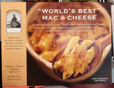 Beecher's, mac & cheese - Produit - fr