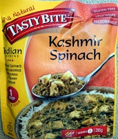 Mild indian kashmir spinach sauteed spinach simmered with paneer cheese, indian kashmir spinach - Product - en