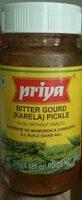 Bitter Gourd (Karela) Pickle in oil (without garlic) - Product - en