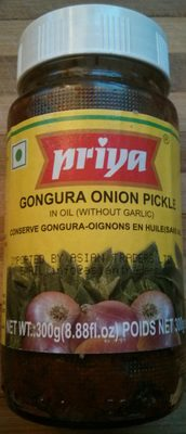 Gongura Onion Pickle - Product
