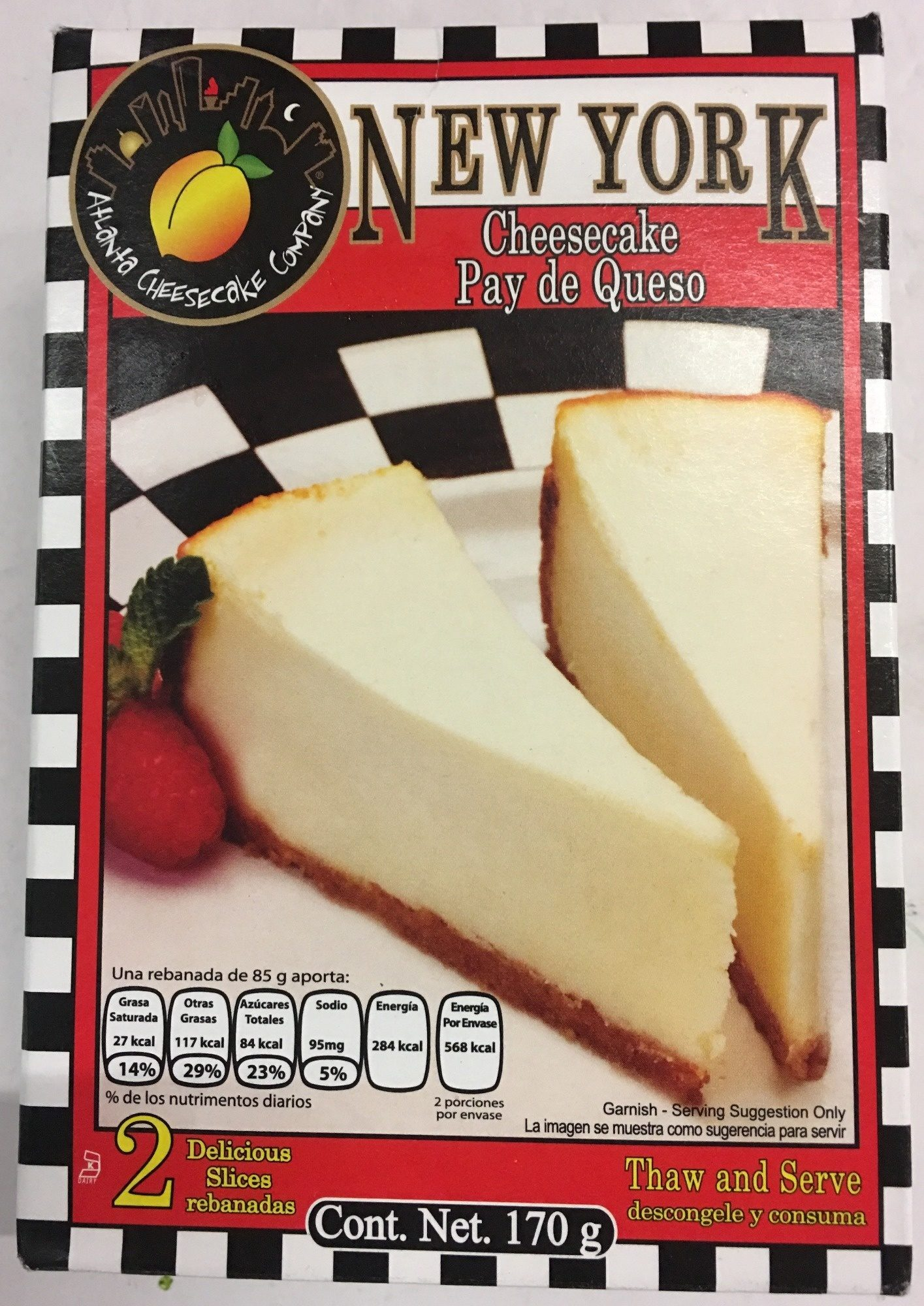 New York Cheesecake - Product - es