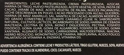 Turtle cheesecake - Ingredientes - es