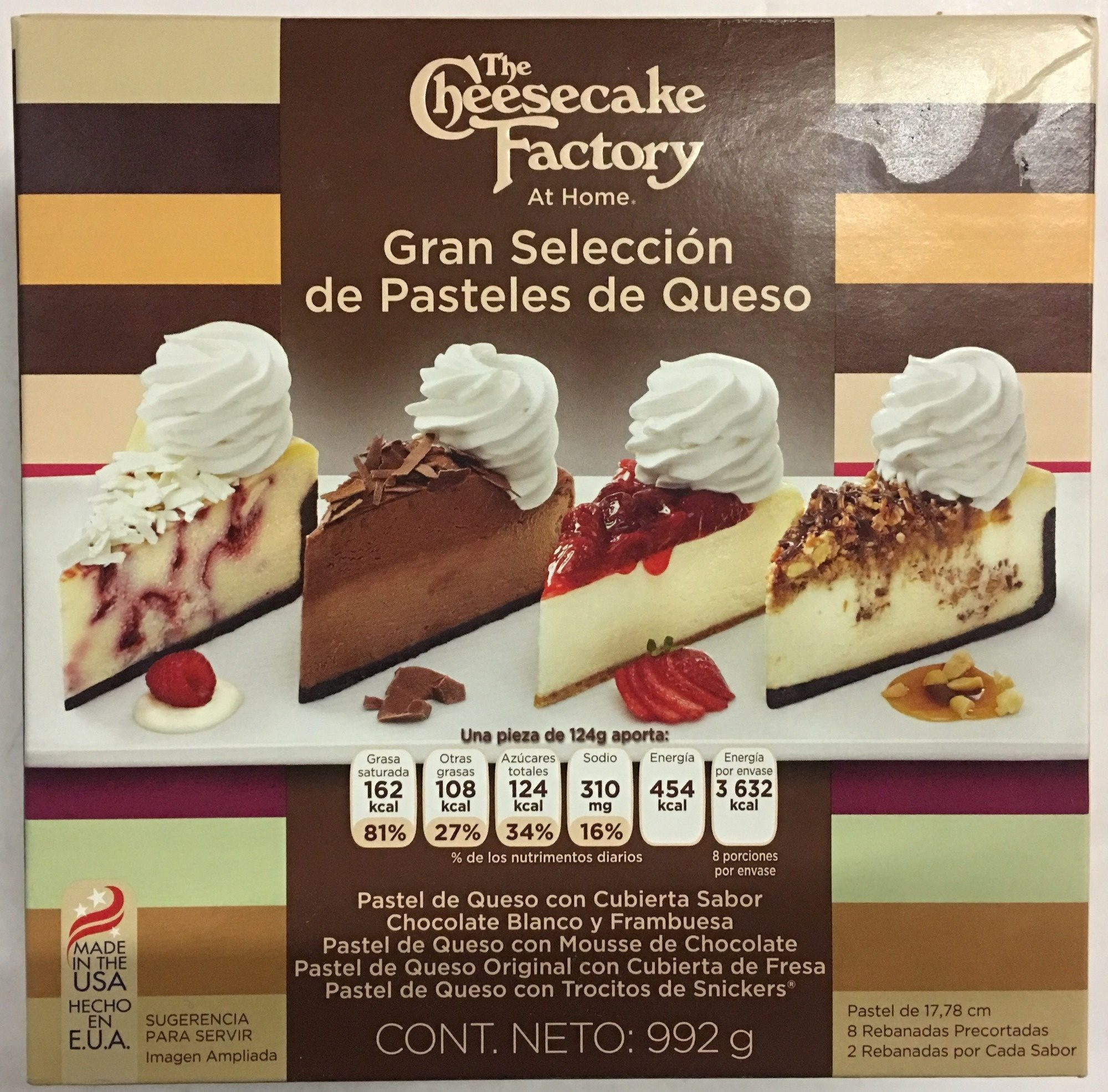 Grand cheesecake selection - Producto - es