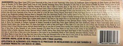 Grand cheesecake selection - Ingredientes - es