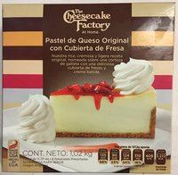 Pastel de Queso Original con cubierta de fresa - Product