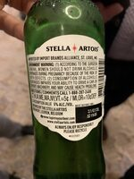 Stella beer - Nutrition facts - en