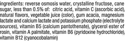 Nutrient Enhanced Water Beverage - Ingredients - en