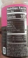Nutrient Enhanced Water Beverage - Nutrition facts - en