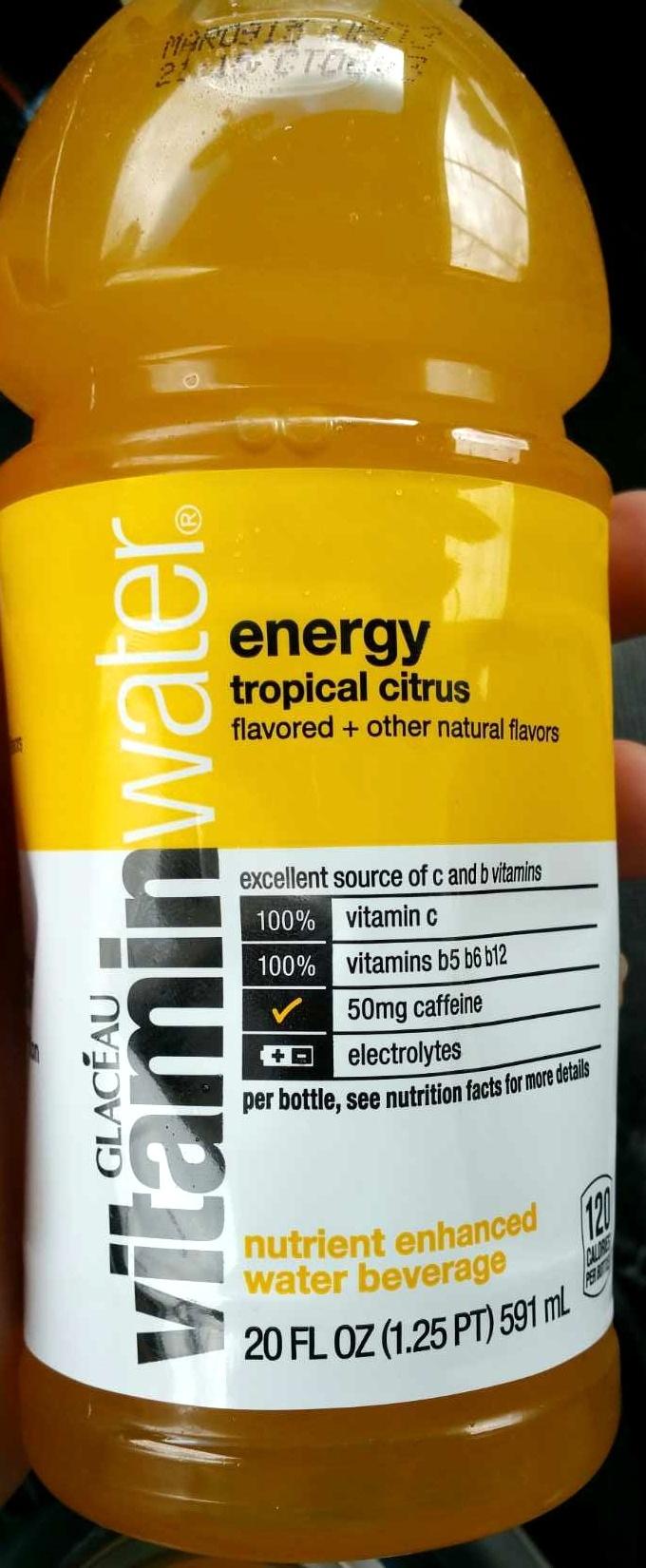 vitamin water tropical citrus - Product