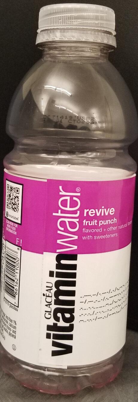 Glaceau, vitamin water, nutrient enhanced water beverage, revive fruit punch, revive fruit punch - Product - en