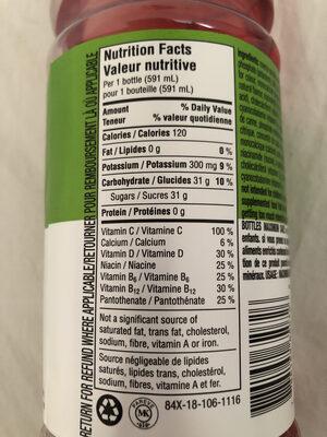 Brille - Informations nutritionnelles - fr