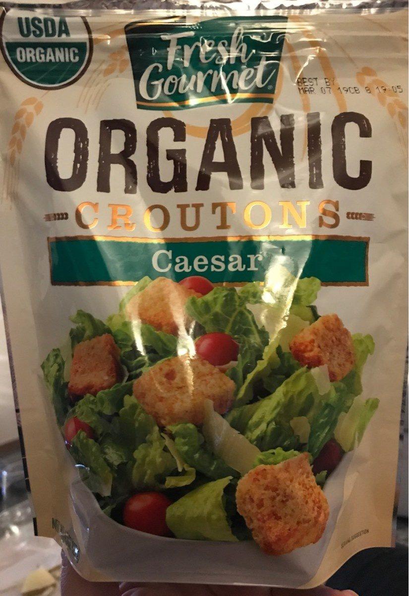 Caesar organic croutons - Product - en