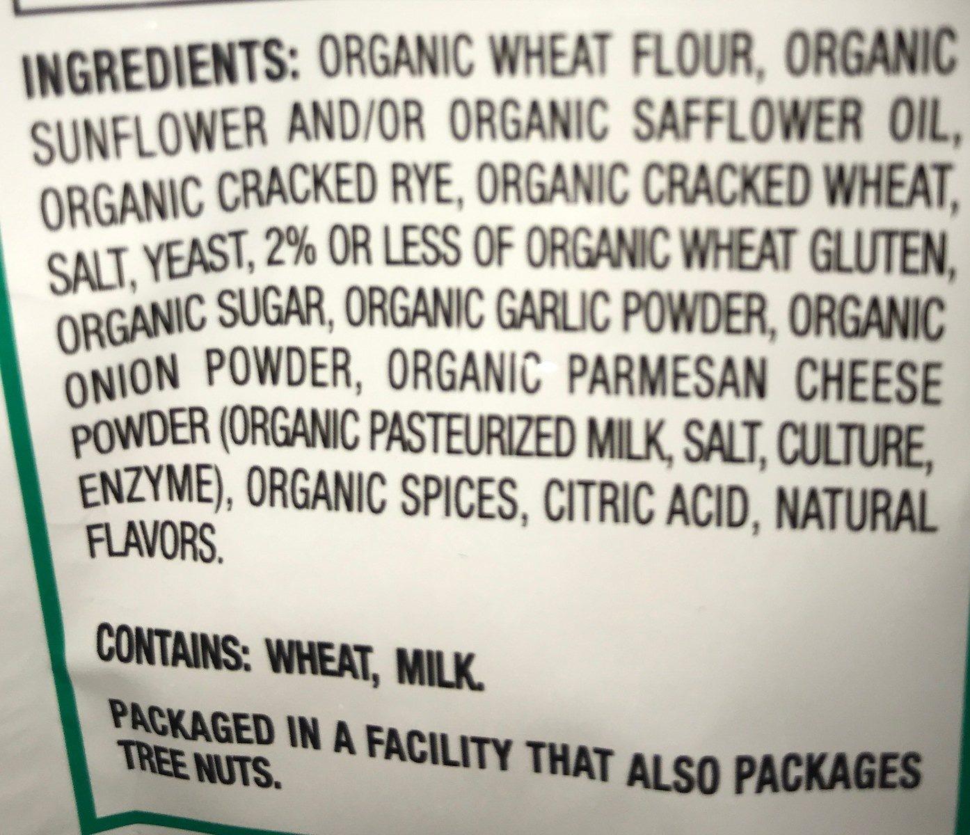 Caesar organic croutons - Ingredients - en