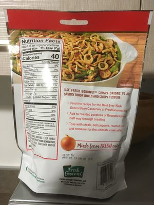 Crispy Onions, Lightly Salted - Product