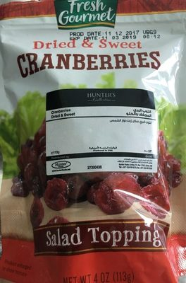 Dried & Sweet Ceanberries - Product