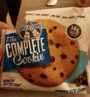 Chocolate chip baked nutrition cookie, chocolate chip - Product - en