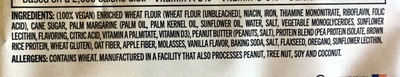 The complete cookie peanut butter - Ingredients