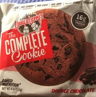 The Complete Cookie Double Chocolate - Produit