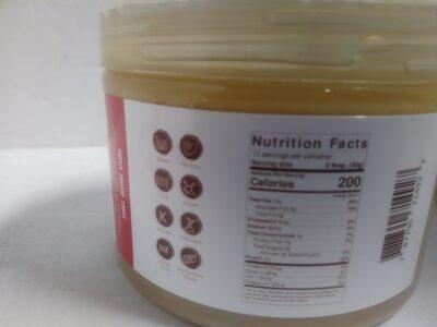 Dark Roast Tahini Paste - Nutrition facts - en