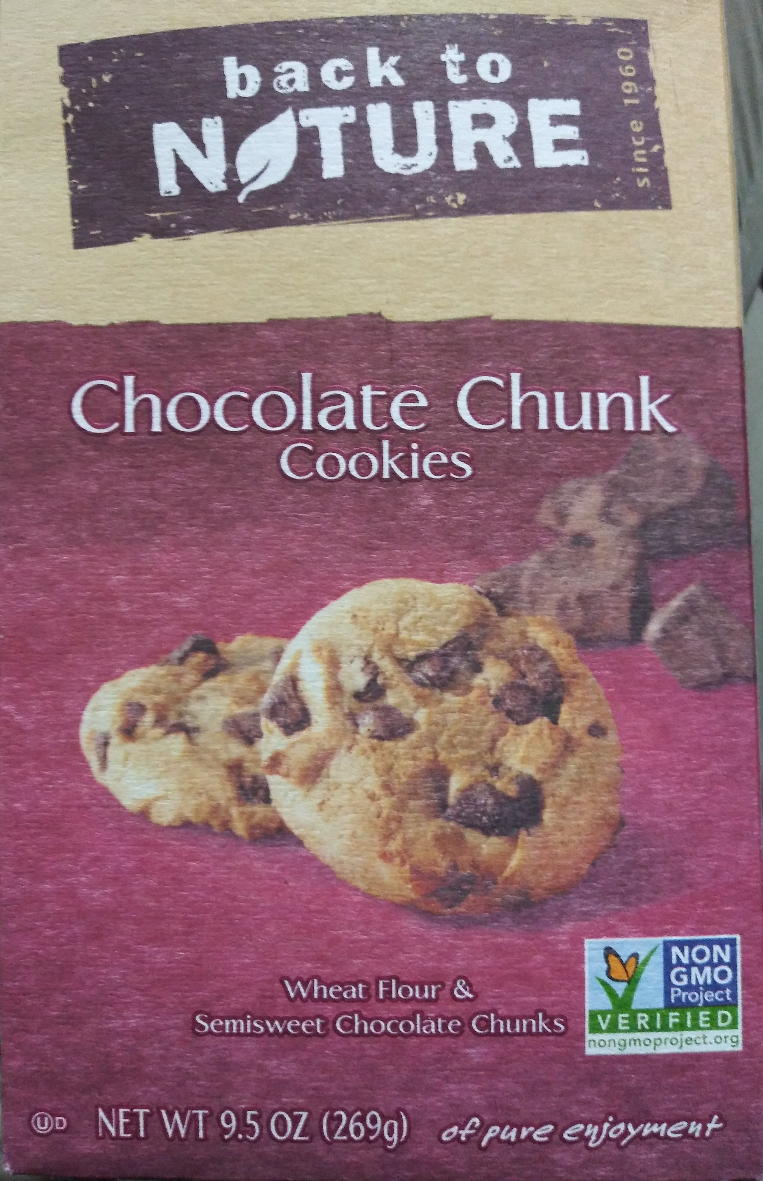 chocolate chunk cookies - Product