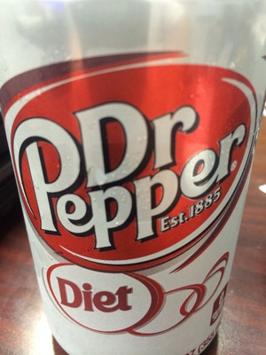 Dr pepper, diet soda - Product - en