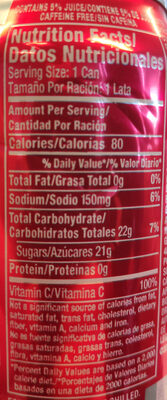 Hawaiian Punch Fruit Punch Fruit Juicy Red - Nutrition facts