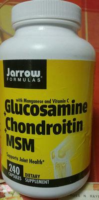 Glucosamine + Chondroitin + MSM - Produit