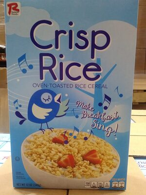 Crisp Rice Cereal - Product