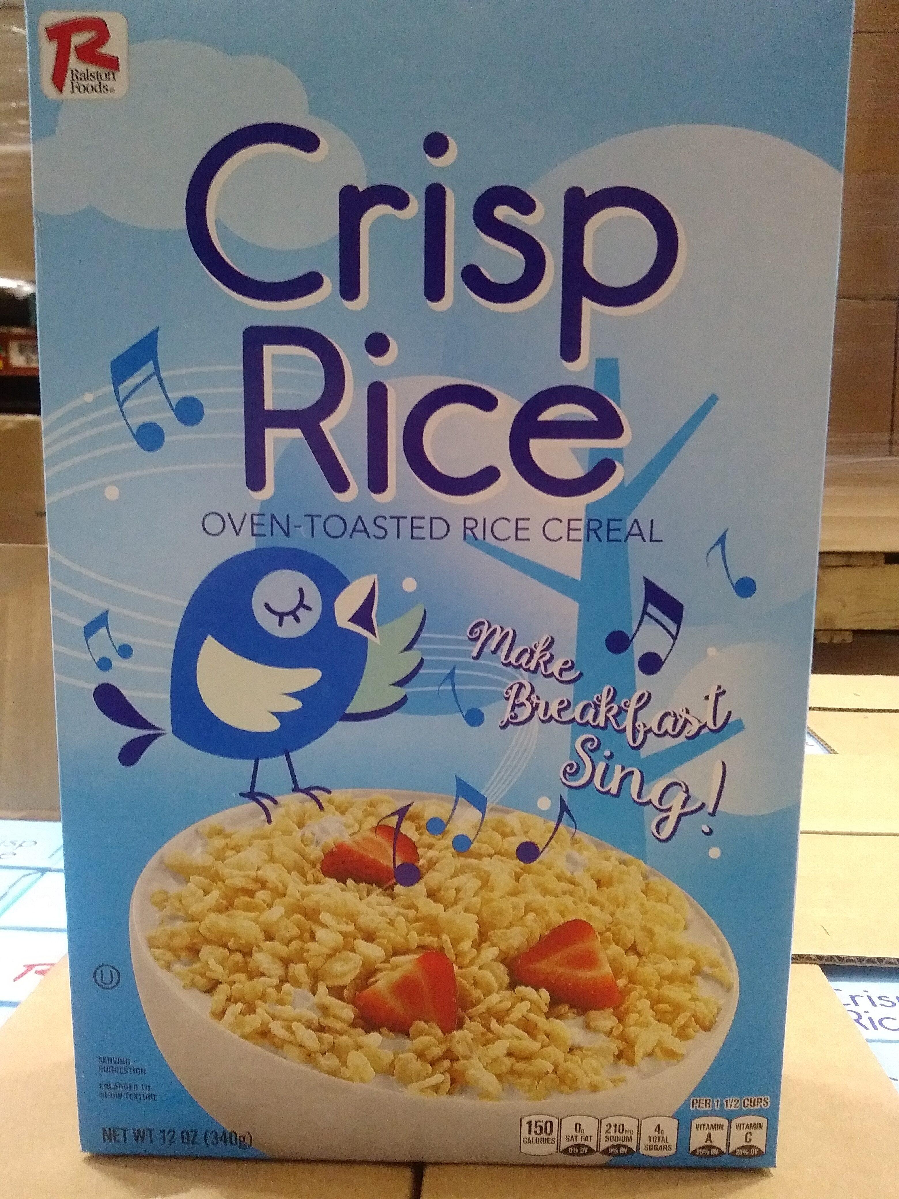 Crisp Rice Cereal - Product - en