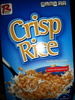 Crisp Rice Toasted Rice Cereal - Product