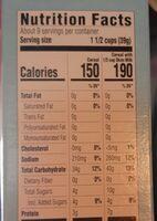 Crisp Rice Cereal - Nutrition facts - en