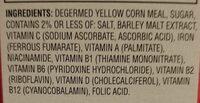 mahomes magic crunch - Ingredients - en