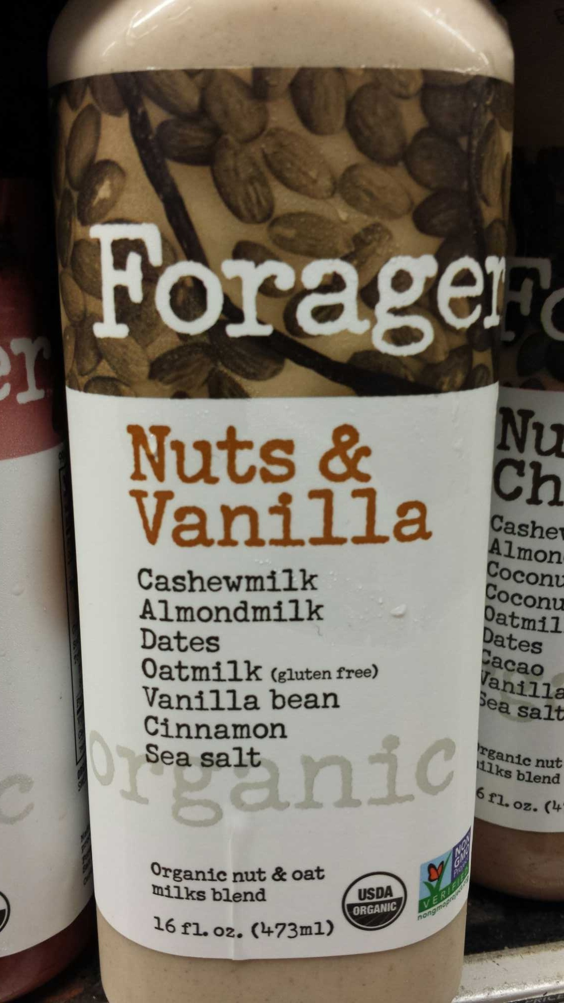 Nuts & Vanilla Milk - Product - en