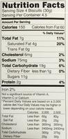 Choco Stix - Informations nutritionnelles - en