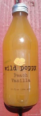 Organic Wild poppy Peach vanilla - Product