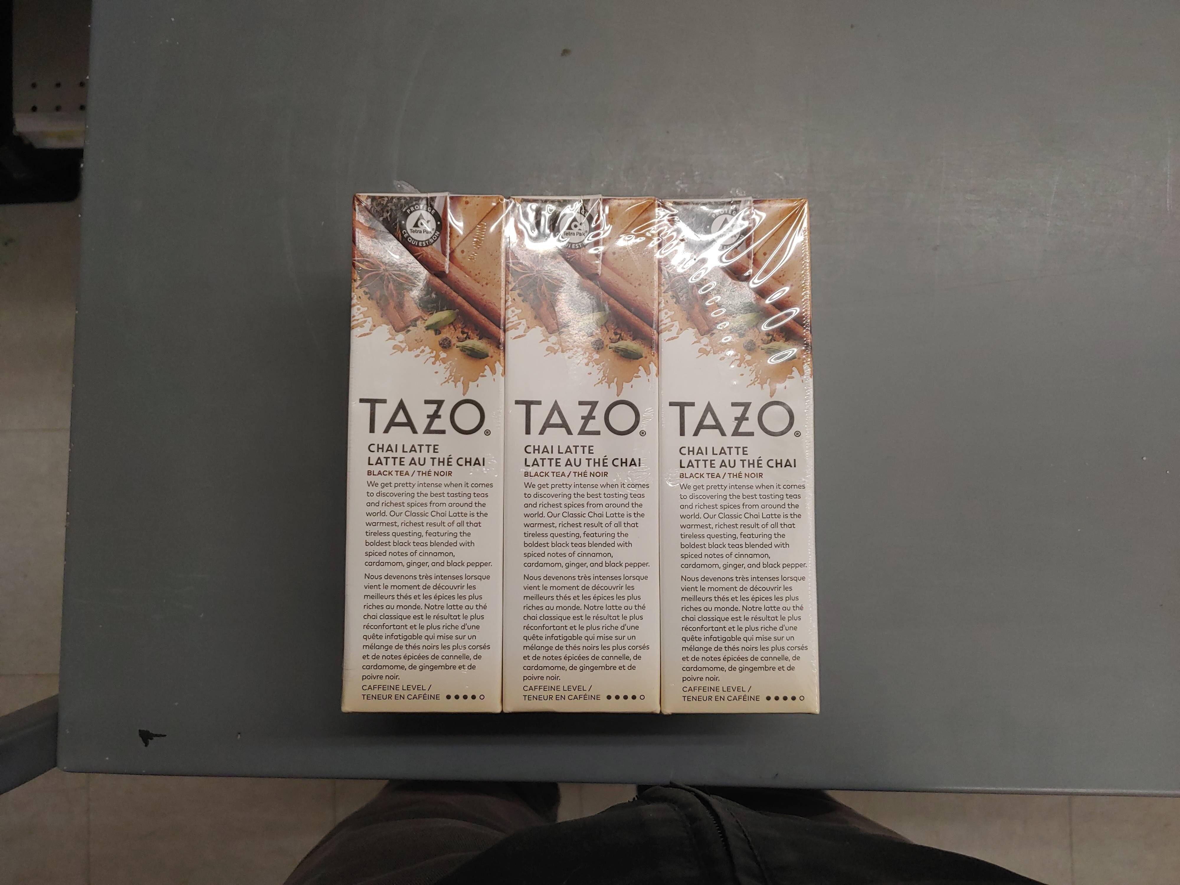 Tazo Chai Latte 3pk - Produit - en