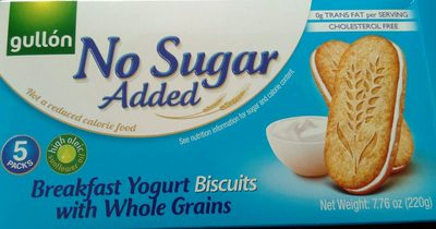 Biscuits Petit-Déjeuner Yaourt aux Céréales Complètes - Sans Sucres Ajoutés - Producto