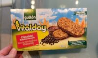 Vitalday. Chocolate breakfast buscuits - Product - fr
