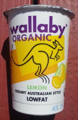 Lemon Creamy Australian Style Lowfat - Product