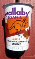 Maple Creamy Australian Style Lowfat - Product