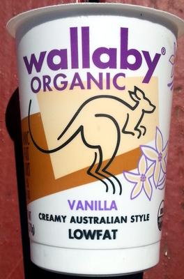 Vanilla Creamy Australian Style Lowfat - Product