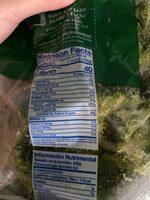 Broccoli Florets Mr Lucky - Información nutricional - en